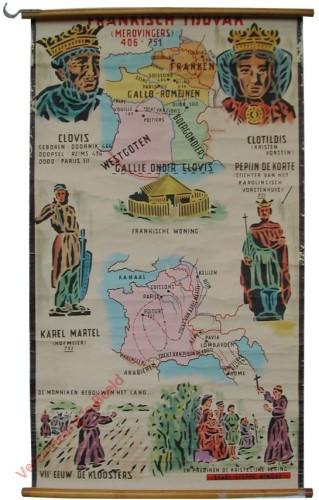 Frankisch tijdvak (Merovingers) (406-751)